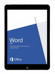 ms word on ipad