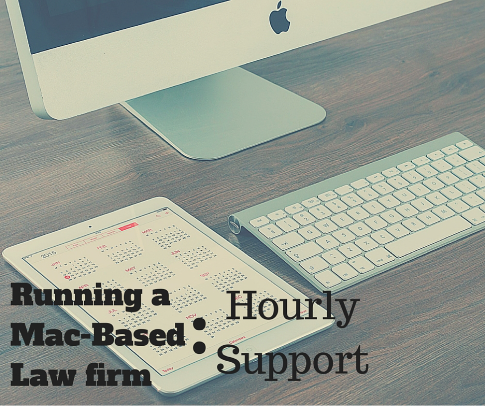 The Mac Lawyer | Using Macs in Law Firms | Attorney Ben